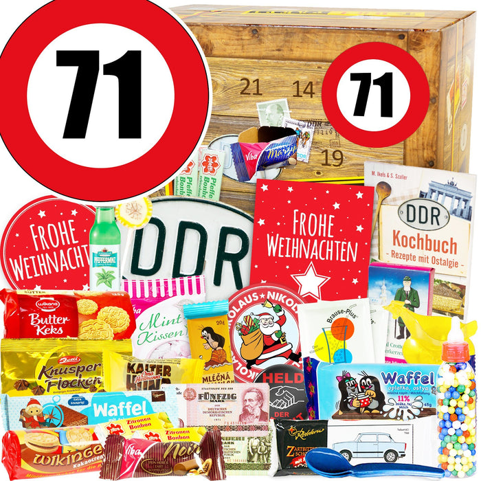 Zahl 71 - DDR Adventskalender