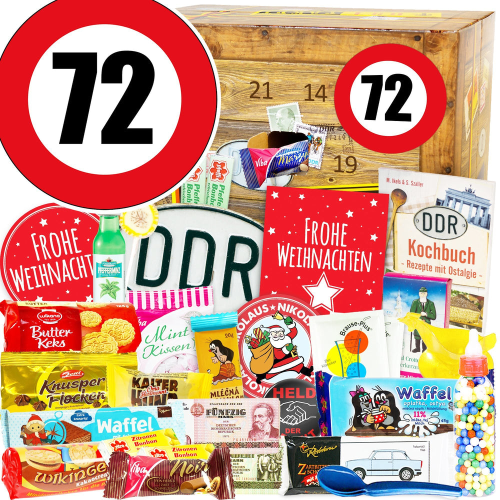 Zahl 72 - DDR Adventskalender