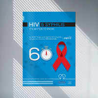 A3 HIV and Syphilis Poster (Pack of 5)