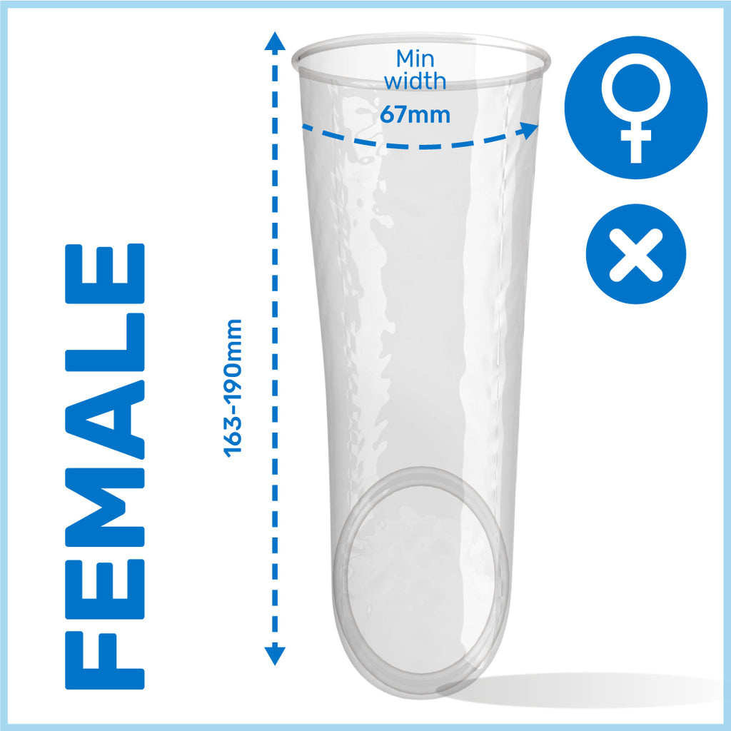 Non-Latex Female Condom 30 Box