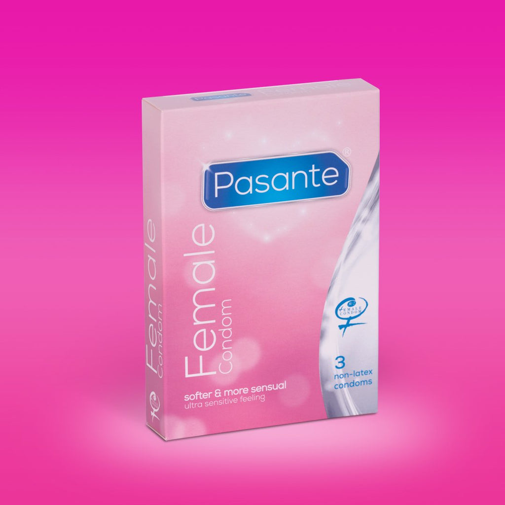 Non-Latex Female Condom 3 Pack