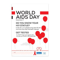 A3 World AIDS Day Poster (Pack of 5)