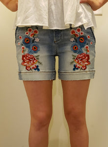 Driftwood 'Blue Peacock' Shorts