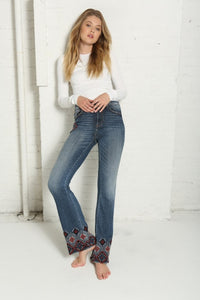 Driftwood 'Cairo' Flared Isabel Jeans
