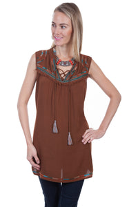 Tie Front Tunic