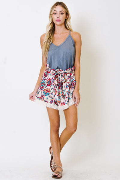 Madison High-Waisted Shorts