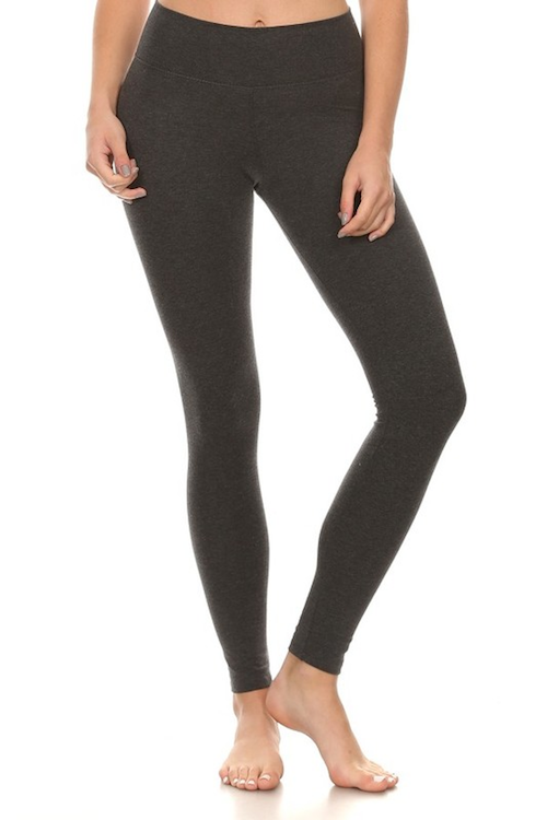Key pocket essential leggings - Charcoal