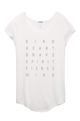 Kind Heart White Tee