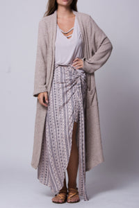 Stirling Mixed Texture Cardigan