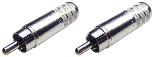 2 New Switchcraft 3502A Phono Long Body Cable End RCA Male w/ Solder Terminals
