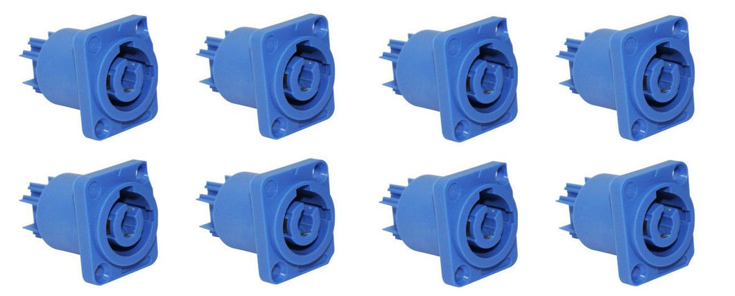 (8) ProCraft PC-TSC040 Panel Mount Power In Connector - Neutrik Powercon style