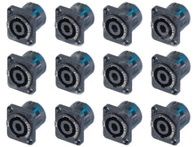 12 Genuine New Neutrik NL2MP 2Pole Chassis Mnt Locking Speakon Speaker Connector