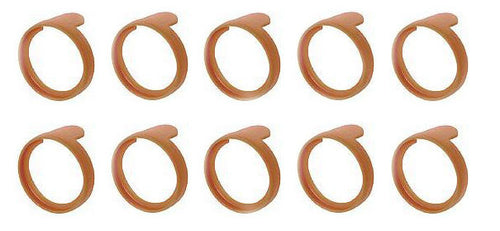 (10 Pack)  NEUTRIK PXR-1  Brown Colored ID Rings for PX Series 1/4