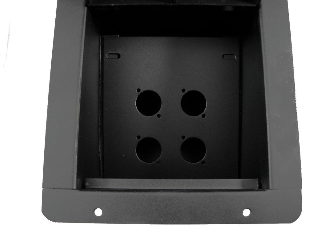 ProCraft Pro Audio Recessed Stage Floor Pocket Box w/ 4