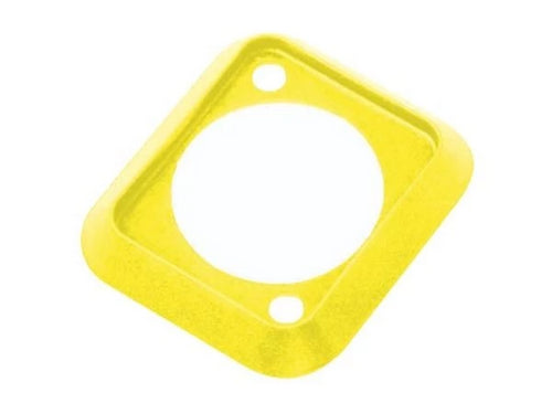 Neutrik SCDP-4   Yellow Color Coded Sealing Gasket for D-size Chassis Connectors