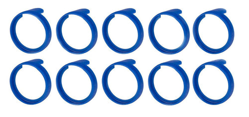 (10 Pack)  NEUTRIK PXR-6  Blue Colored ID Rings for PX Series 1/4