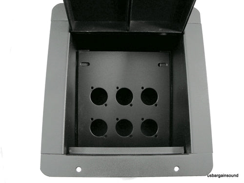 ProCraft Pro Audio Recessed Stage Floor Pocket Box 6