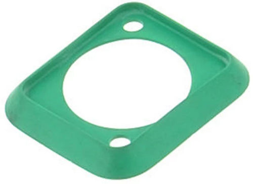 Neutrik SCDP-5   Green Color Coded Sealing Gasket for D-size Chassis Connectors