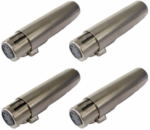 (4) Procraft PC-ADT050 5 Pin Female to 3 Pin Male Adapter, XLR DMX Lighting App