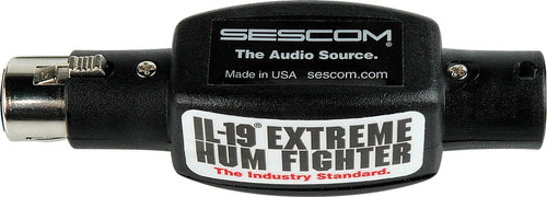Sescom IL-19 Inline Pro Audio Hum Eliminator The Industry Standard (USA)