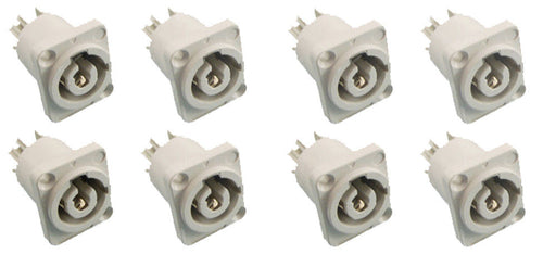 (8) ProCraft PC-TSC045 Panel Mount Power Out Connector - Neutrik Powercon Style