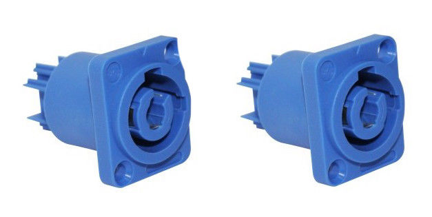 (2) ProCraft PC-TSC040 Panel Mount Power In Connector -Neutrik Powercon style