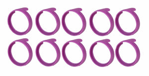 "(10 Pack)  NEUTRIK PXR-7  Violet Colored ID Rings for PX Series 1/4""  Connectors"