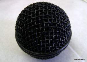 ProCraft Black Replacement Mesh Microphone Grille, Shure SM58, SV100 & Similar