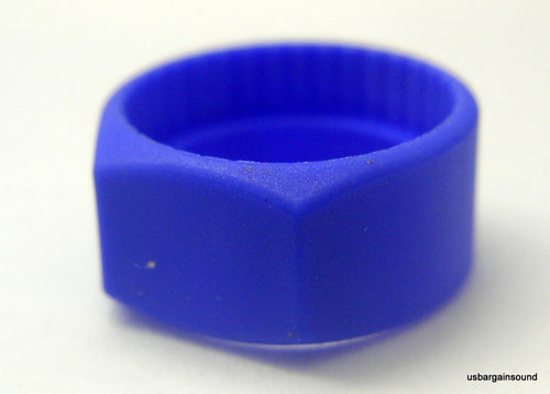 (10 Pack)  Neutrik PCR-6  Blue Colored ID Rings for C Series 1/4