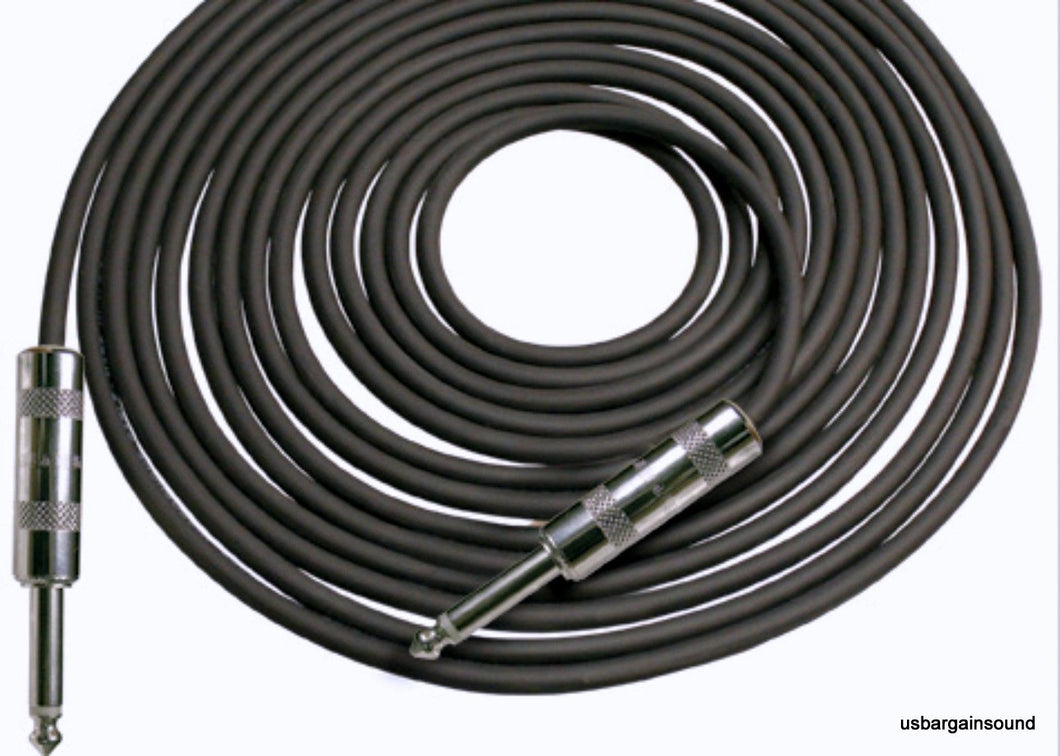Rapco Horizon (SEG-25) 25 foot Guitar/Intsrument Cable w/Neutrik 1/4