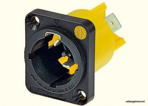 Neutrik NAC3MPX powerCON TRUE 1 Locking Appliance Inlet Connector 1/4