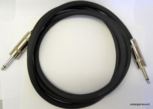 "ProCraft (PSP14-20-QQ) 20 Foot 14 Gauge Speaker Cable 1/4"" to 1/4"" Connectors"