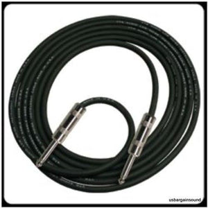"Rapco Horizon (SRS16-10) 10 Ft. 16 Gauge Speaker Cable w/Neutrik 1/4"" Connectors"