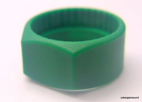 (10 Pack)  Neutrik PCR-5  Green Colored ID Rings for C Series 1/4