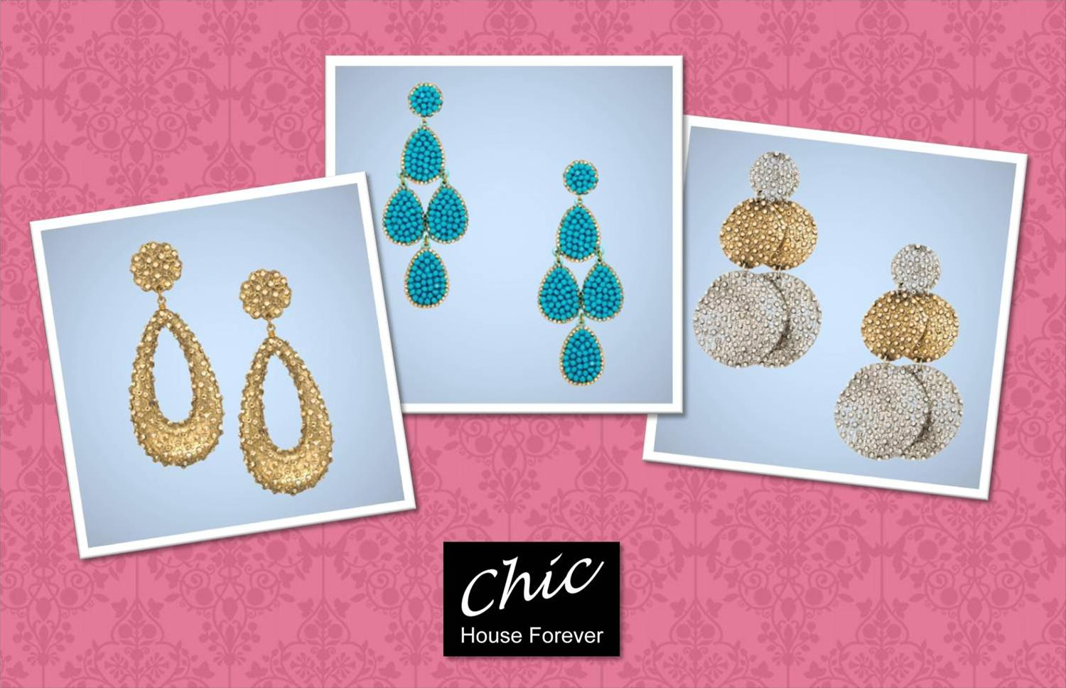 Roni Blashay Earrings from Chic House Forever