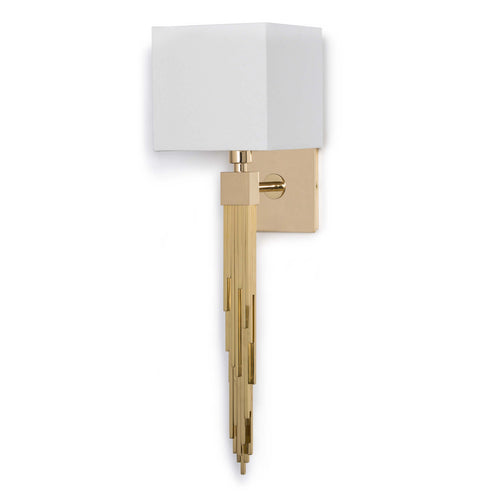 Tower Sconce (Polished Brass)