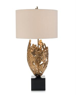 Bronze Vessel Lamp