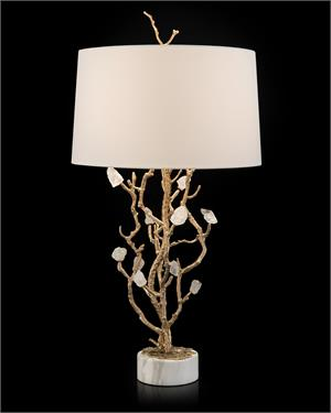 Quartz Bud Table Lamp