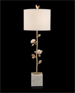 Quartz Flower Table Lamp