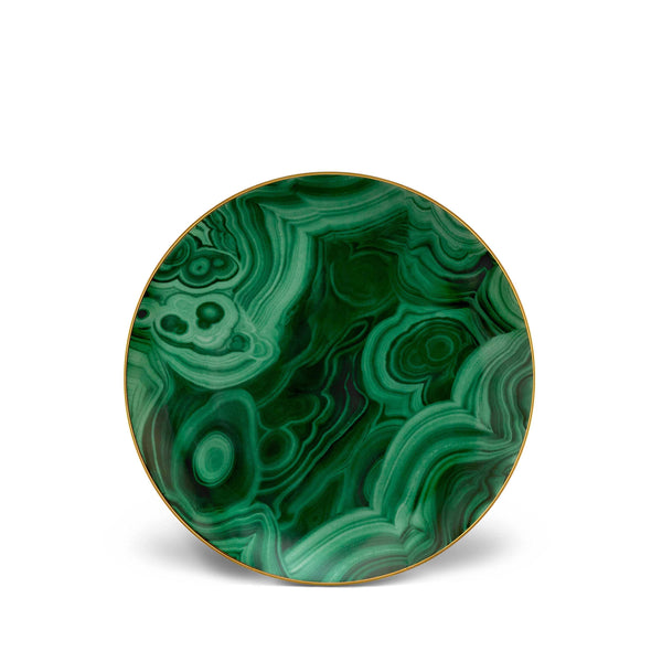 Malachite Dessert Plates (Set of 4)