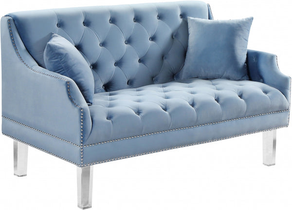 Roxy Velvet Loveseat