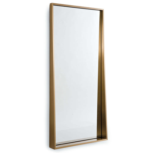 Gunner Mirror (Natural Brass)