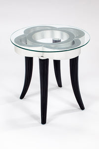 4441 End Table Silver