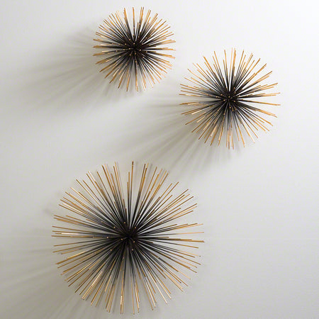 Boom Wall Sculpture-Brass