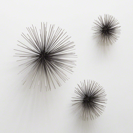 Boom Wall Sculpture-Nickel