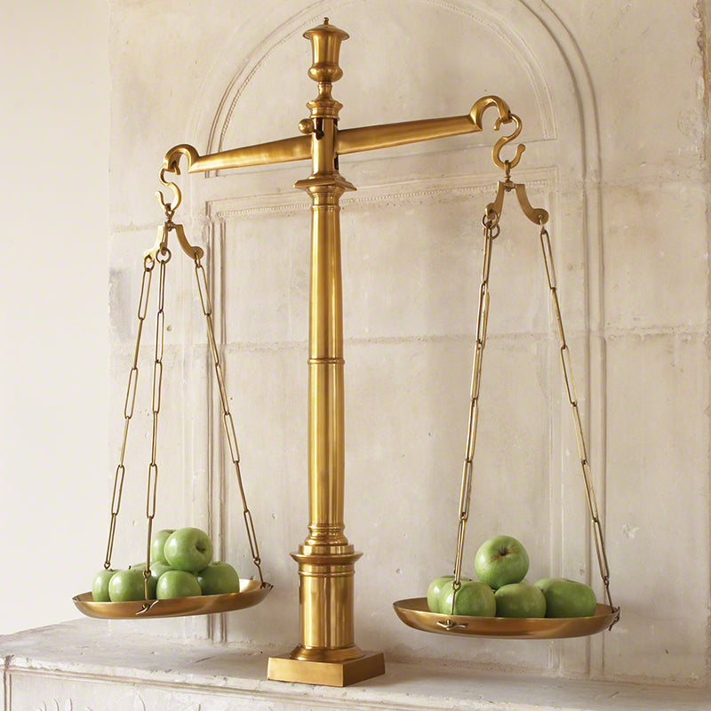 Brass Library Scales