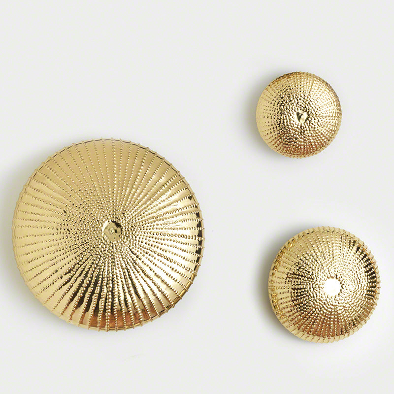 Sea Urchin Wall Sculpture-Gold