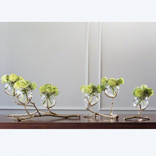Twig 2 Vase Holder-Brass with other sizes
