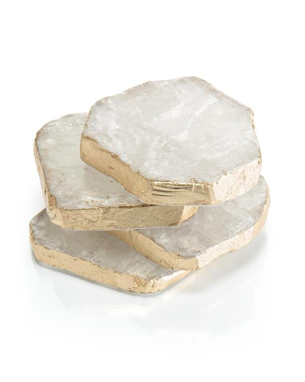 Selenite Coasters
