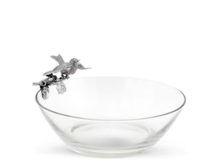 Song Bird Glass Bowl